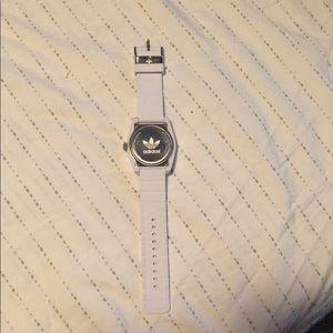 adidas Accessories - Addidas white wrist watch